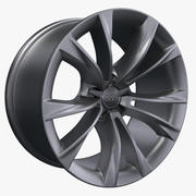 Audi A5 5 talade V-Design Rim 3d model