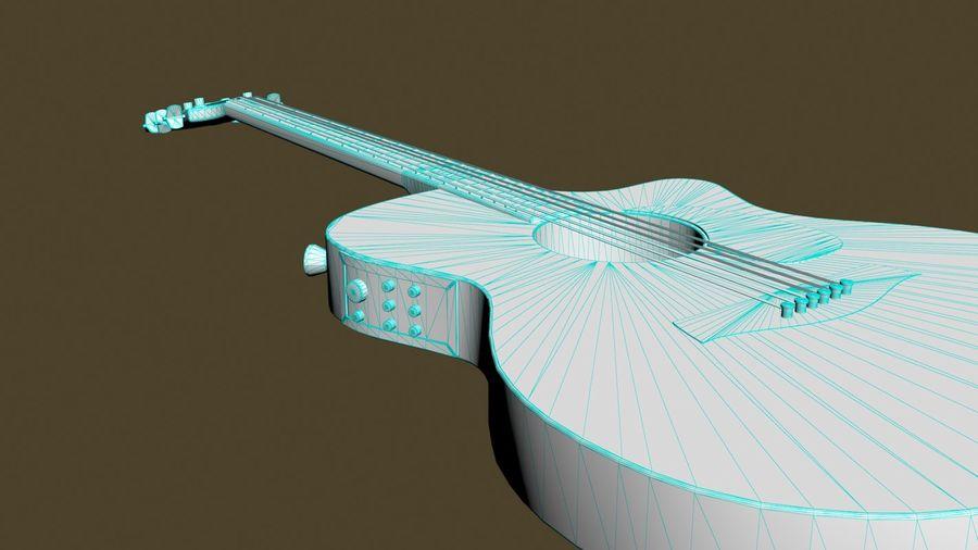 Elektrische Gitarre royalty-free 3d model - Preview no. 13