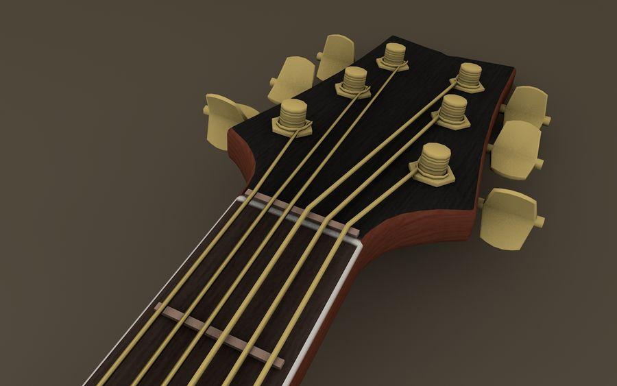 Elektrische Gitarre royalty-free 3d model - Preview no. 3