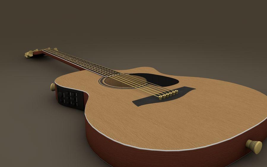 Elektrische Gitarre royalty-free 3d model - Preview no. 2
