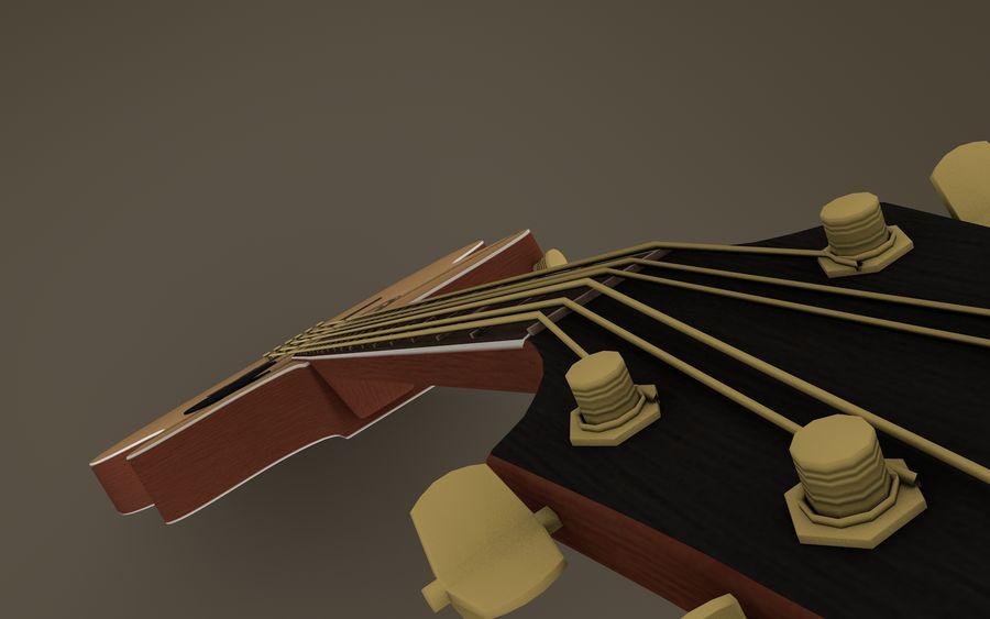Elektrische Gitarre royalty-free 3d model - Preview no. 9