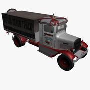 화물 트럭 3d model