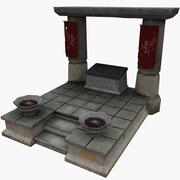 Altar (1) 3d model