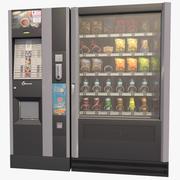 Automat z jedzeniem 3d model