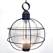 金属框灯 3d model