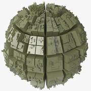 Greeble Sphere 3d model