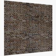 Ceglana ściana 3d model