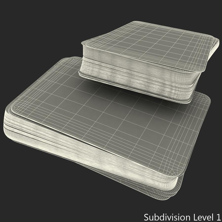 Deck Van Speelkaarten royalty-free 3d model - Preview no. 18