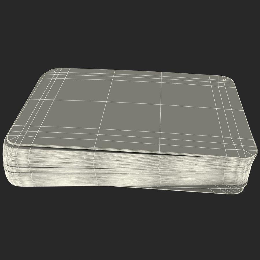 Deck Van Speelkaarten royalty-free 3d model - Preview no. 14