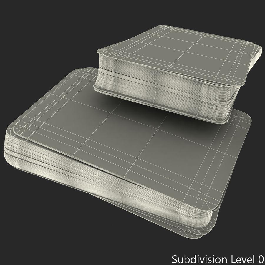 Deck Van Speelkaarten royalty-free 3d model - Preview no. 17
