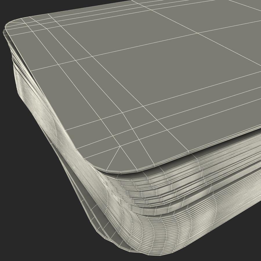 Deck Van Speelkaarten royalty-free 3d model - Preview no. 16