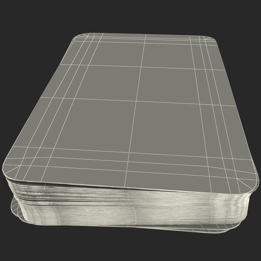 Deck Van Speelkaarten royalty-free 3d model - Preview no. 15