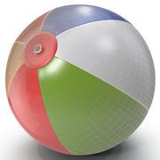 Pallone da spiaggia 3d model