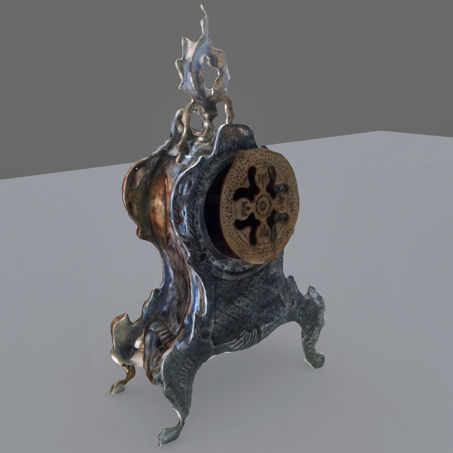 КЛАССИЧЕСКИЕ ЧАСЫ royalty-free 3d model - Preview no. 5