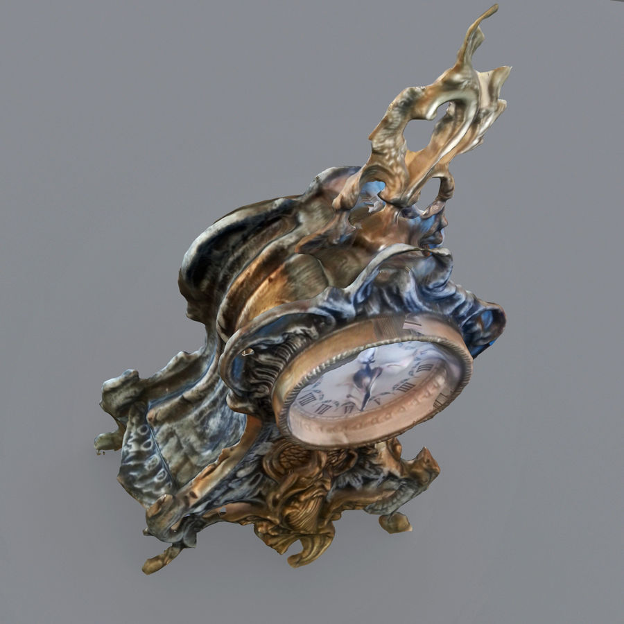 КЛАССИЧЕСКИЕ ЧАСЫ royalty-free 3d model - Preview no. 6