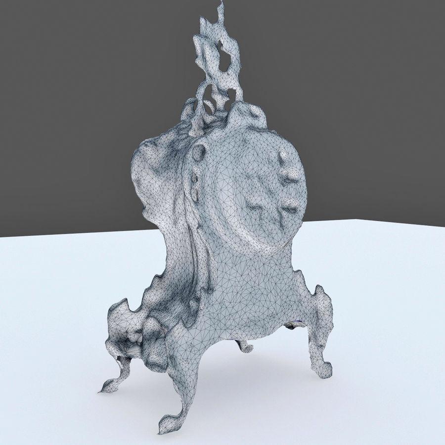 クラシッククロック royalty-free 3d model - Preview no. 7