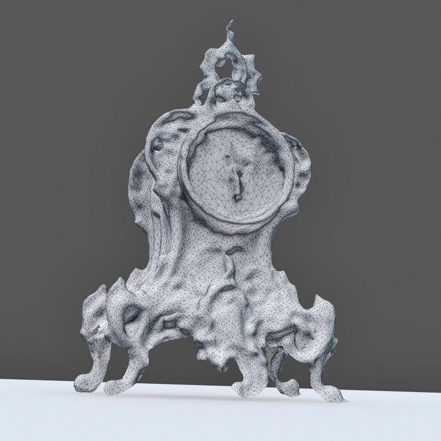クラシッククロック royalty-free 3d model - Preview no. 6