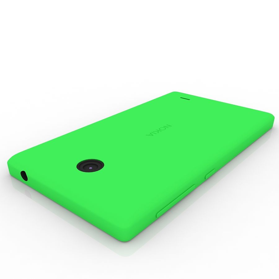 Nokia X royalty-free 3d model - Preview no. 7