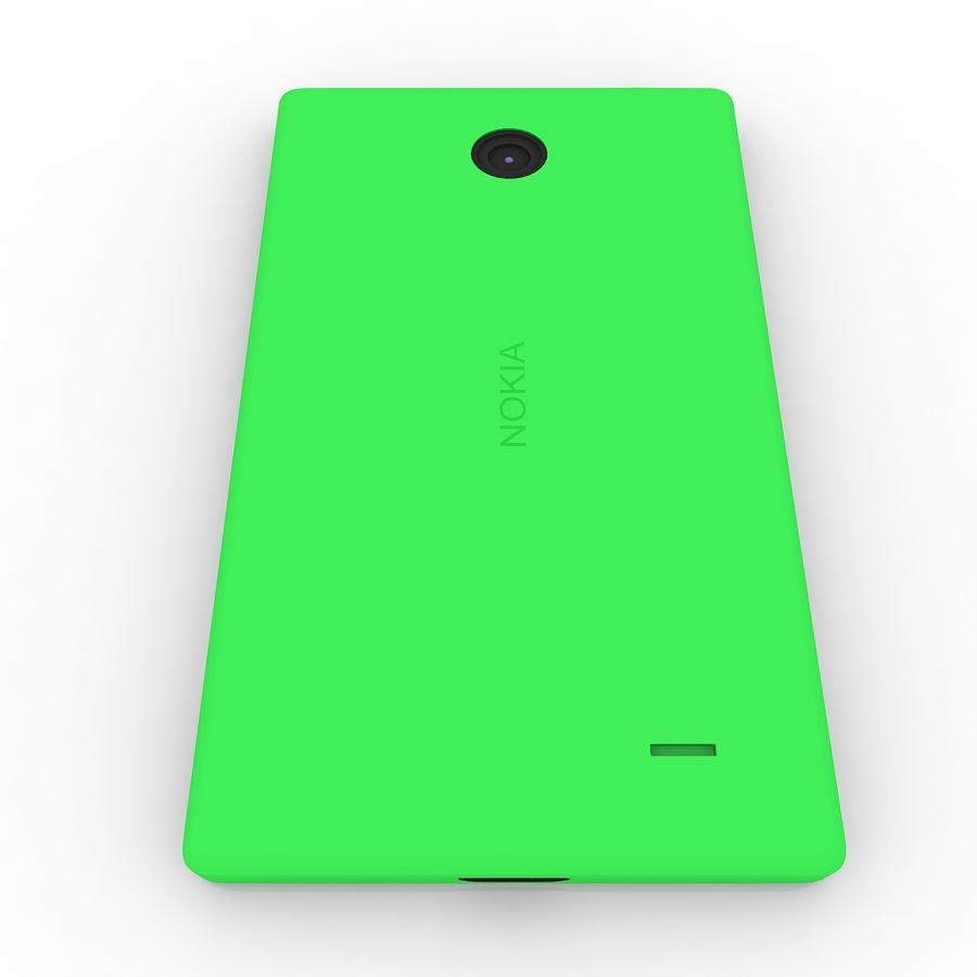 Nokia X royalty-free 3d model - Preview no. 5