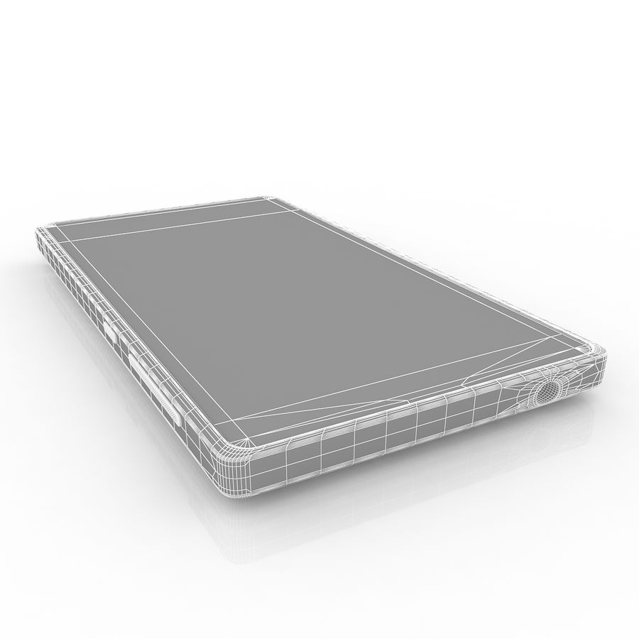 Nokia X royalty-free 3d model - Preview no. 10