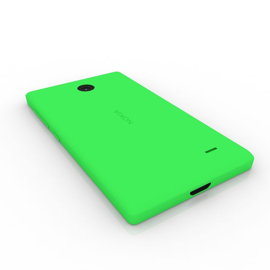 Nokia X royalty-free 3d model - Preview no. 6