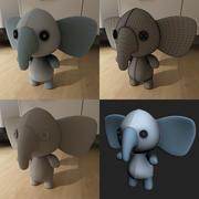 Petit éléphant 3d model
