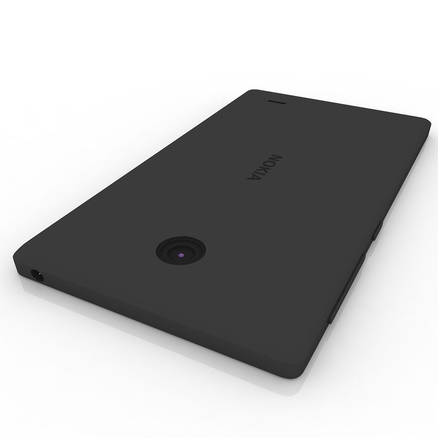 Nokia X + royalty-free 3d model - Preview no. 5