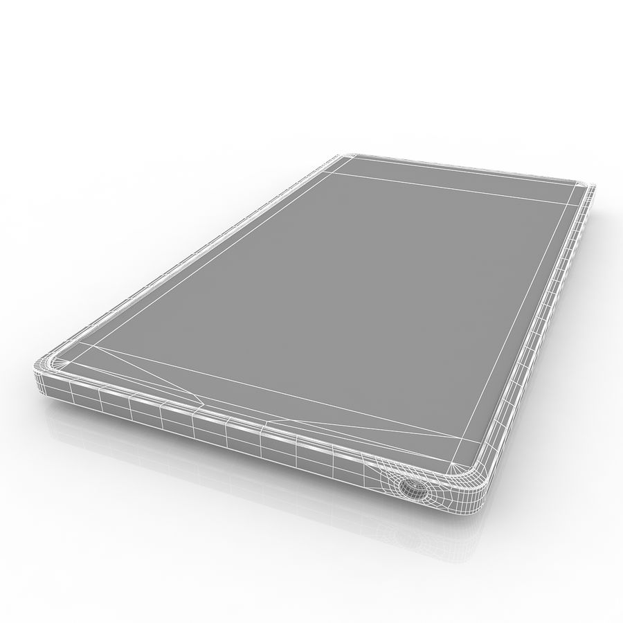 Nokia X + royalty-free 3d model - Preview no. 8