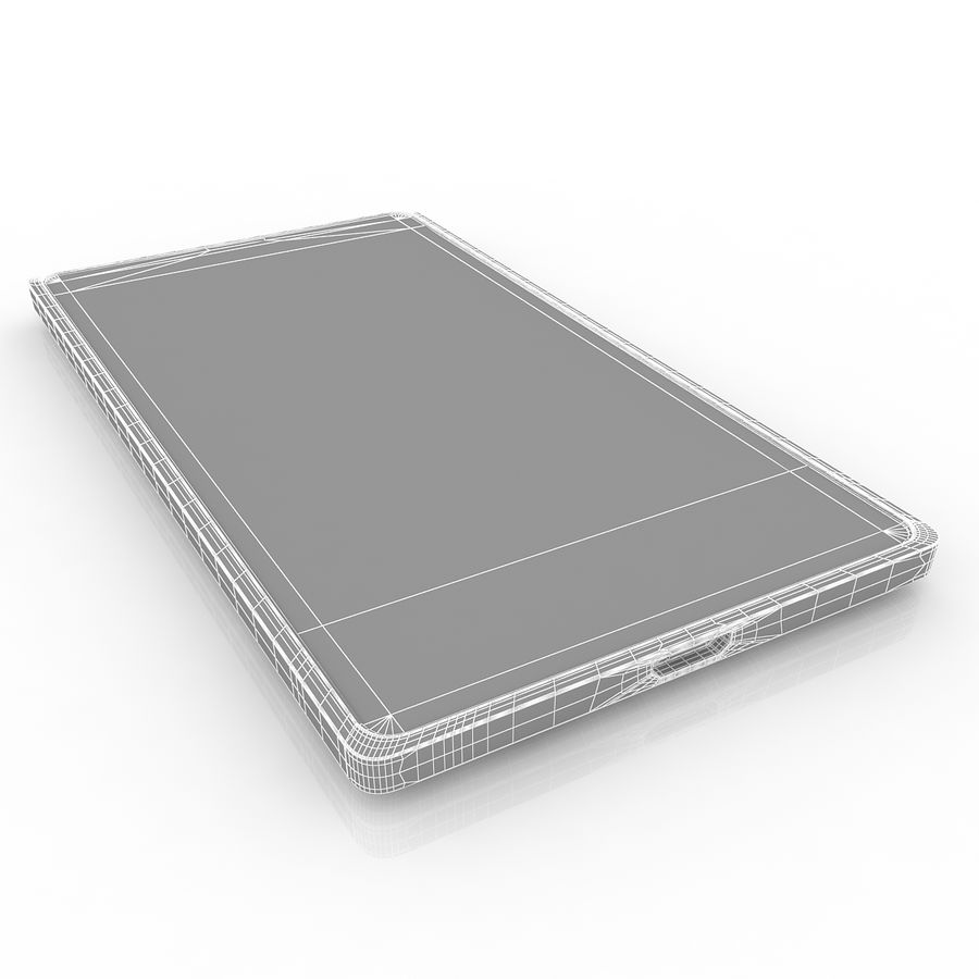 Nokia X + royalty-free 3d model - Preview no. 7