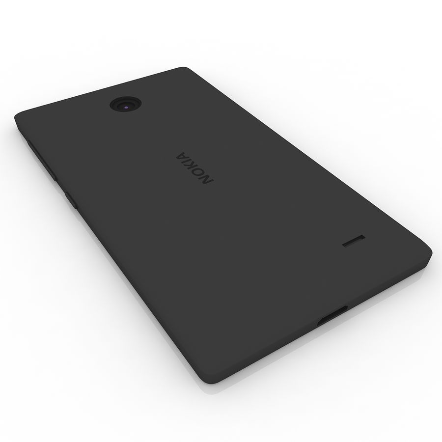 Nokia X + royalty-free 3d model - Preview no. 4