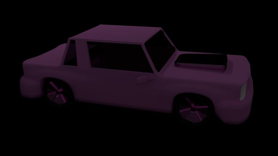 Coche royalty-free modelo 3d - Preview no. 4