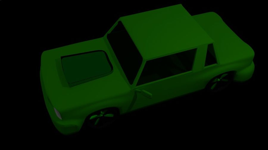 Coche royalty-free modelo 3d - Preview no. 5