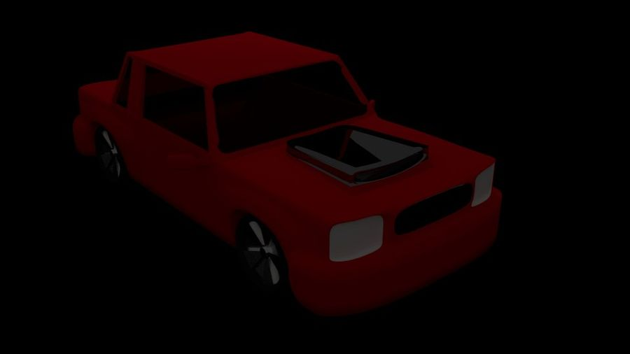Coche royalty-free modelo 3d - Preview no. 2