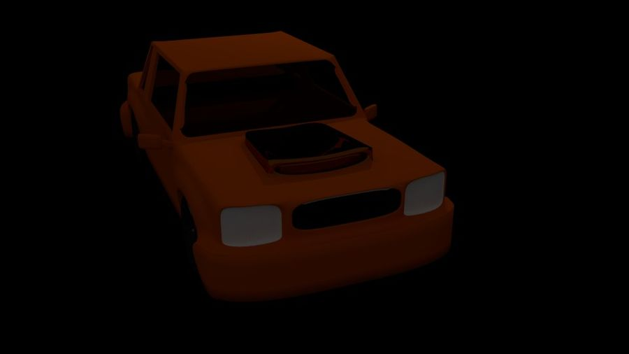 Coche royalty-free modelo 3d - Preview no. 3