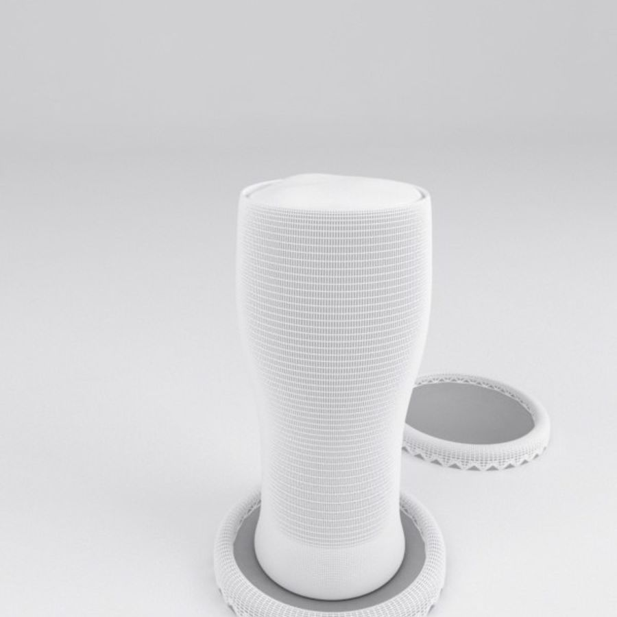 Vaso de cerveza royalty-free modelo 3d - Preview no. 5