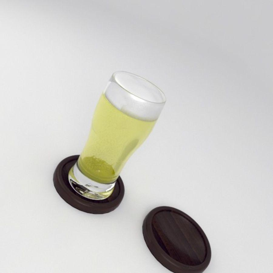 Vaso de cerveza royalty-free modelo 3d - Preview no. 3