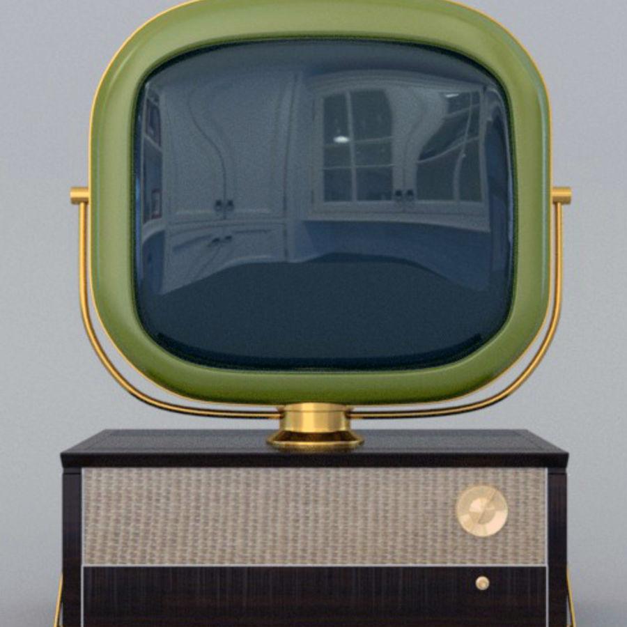 TV_Predicta_Philco royalty-free 3d model - Preview no. 4