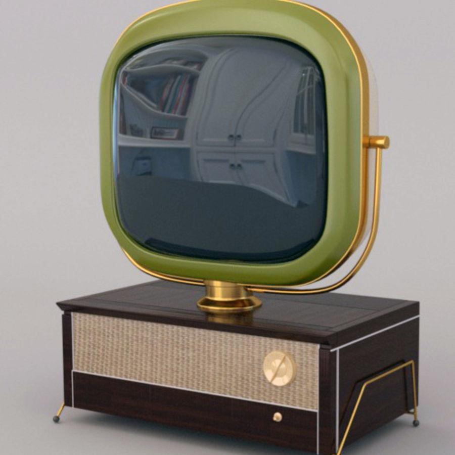 TV_Predicta_Philco royalty-free 3d model - Preview no. 1