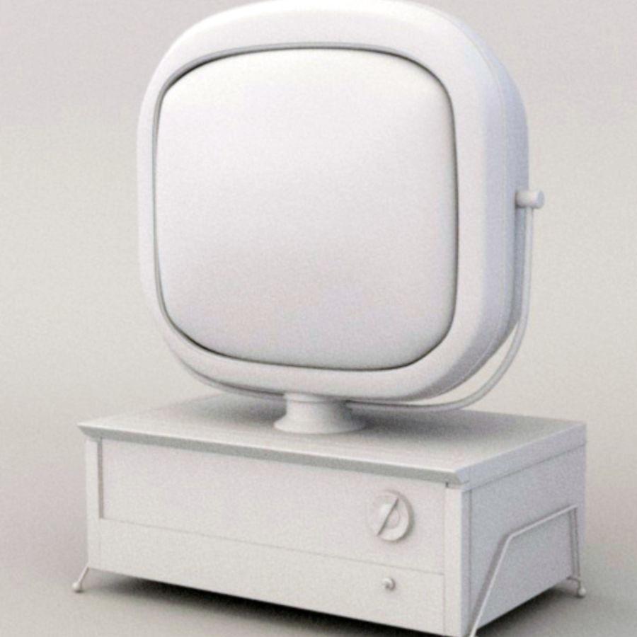 TV_Predicta_Philco royalty-free 3d model - Preview no. 2