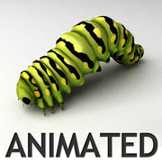 Animated Caterpilar 3d model