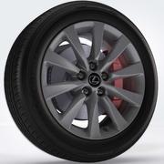 Wheel 01 3d model