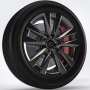 Wheel 02 3d model