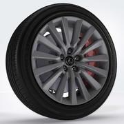 Wheel 03 3d model