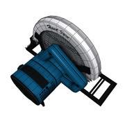 Elektrische handzaag 3d model