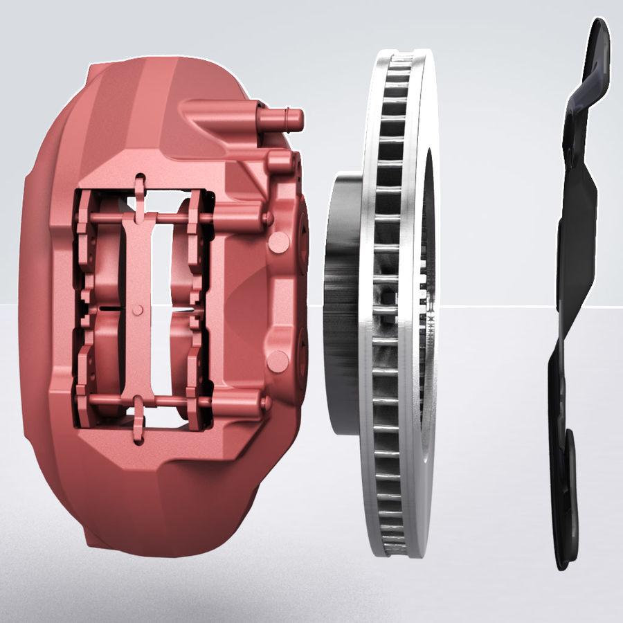 Brembo Brakes v2 royalty-free 3d model - Preview no. 8