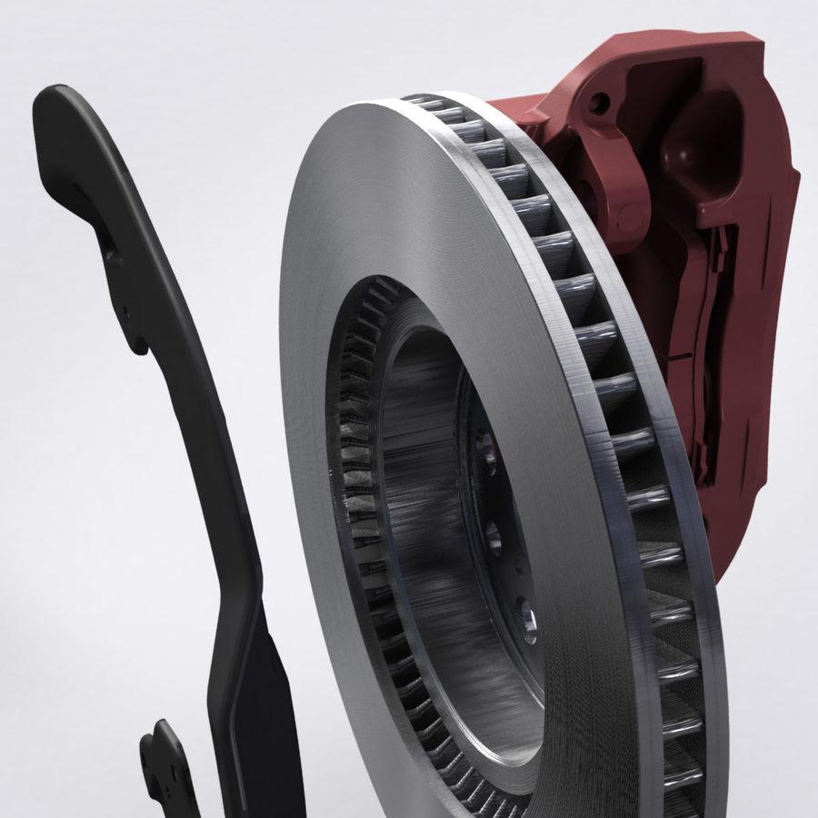 Brembo Brakes v2 royalty-free 3d model - Preview no. 10