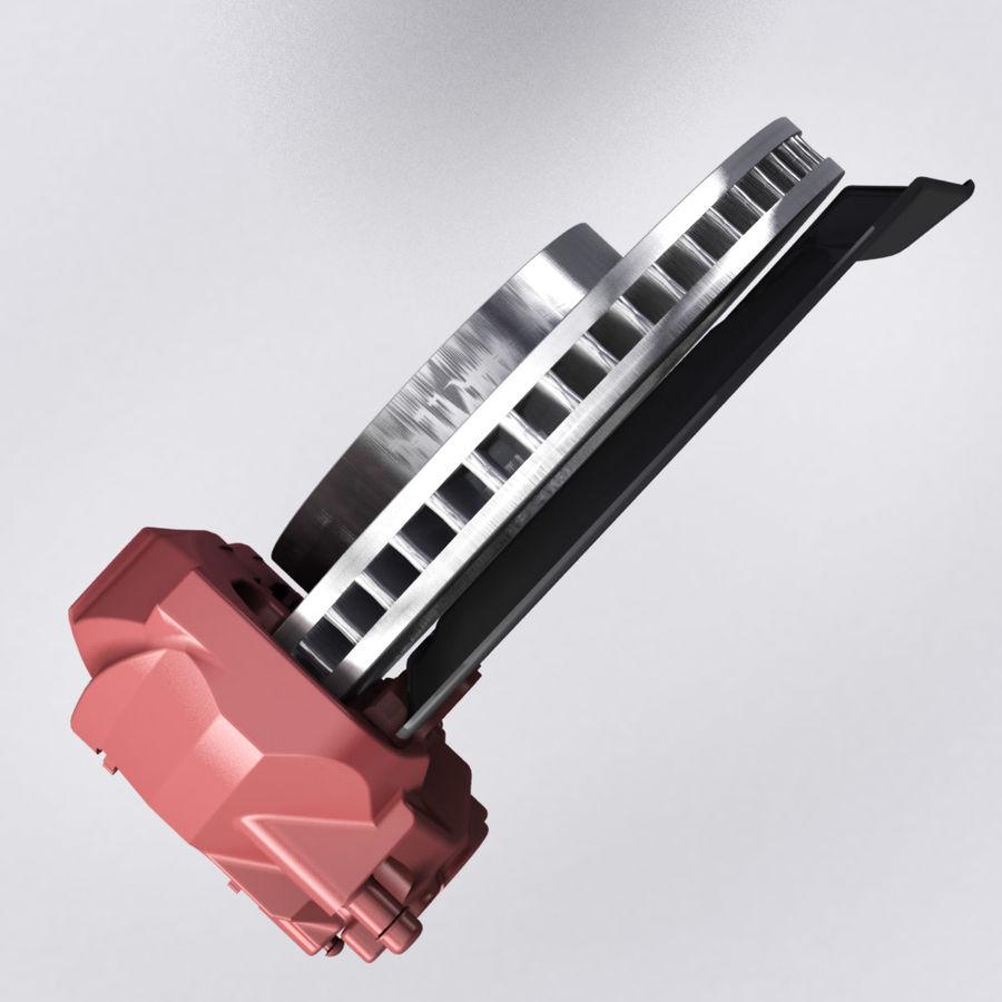 Brembo Brakes v2 royalty-free 3d model - Preview no. 5