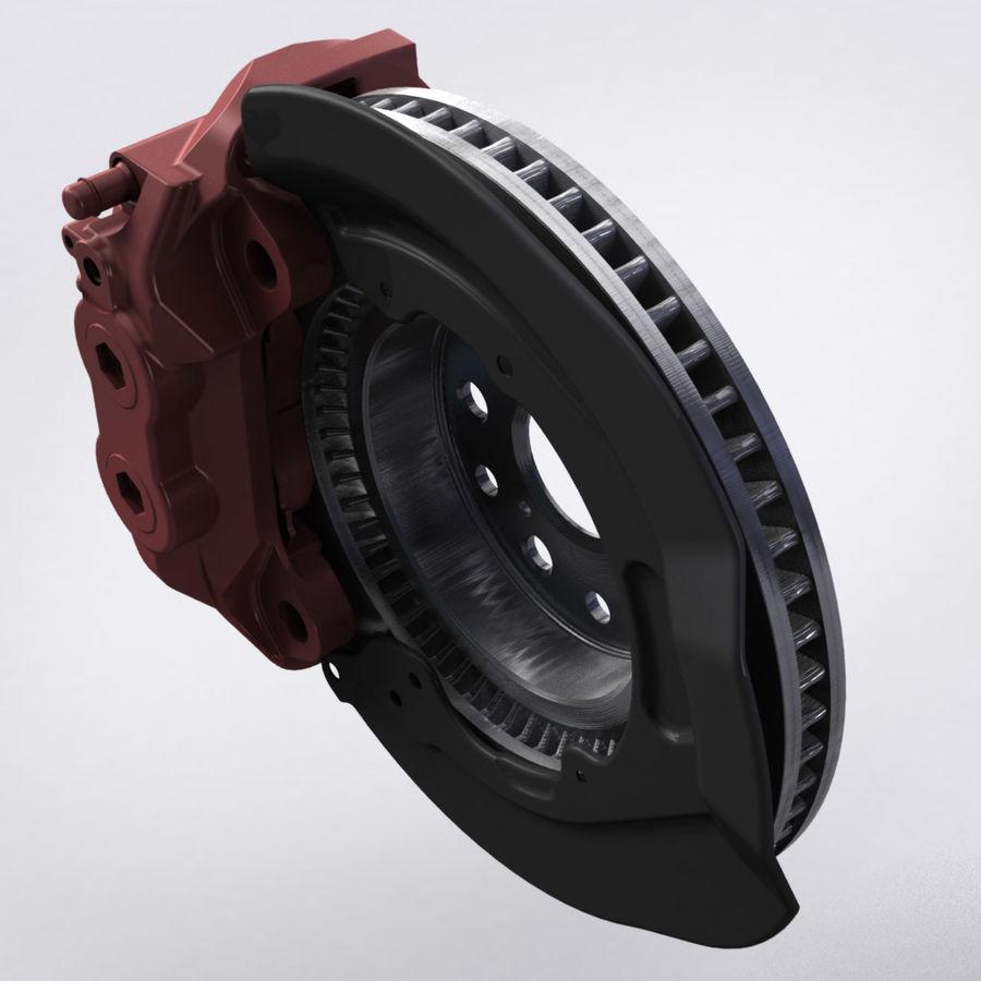 Brembo Brakes v2 royalty-free 3d model - Preview no. 3