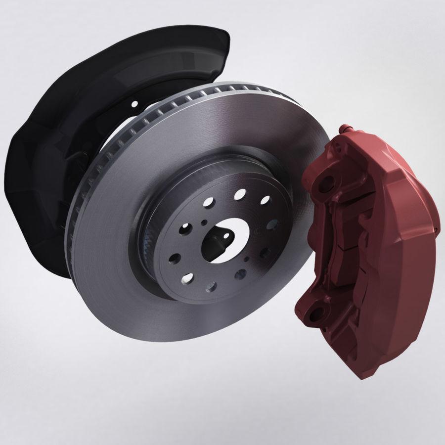 Brembo Brakes v2 royalty-free 3d model - Preview no. 7