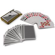 玩纸牌套 3d model